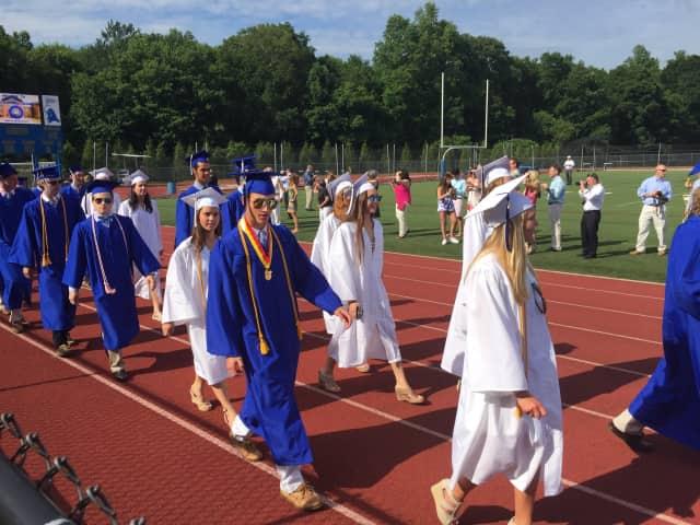 Darien High School's Class of 2017 graduation date has been selected.