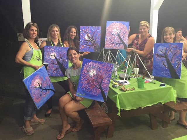 The Ossining Upper Elementary PTA is hosting a Paint Nite fundraiser.