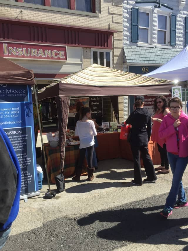 More than 1,500 residents and visitors attended the Suffern Street Fair.