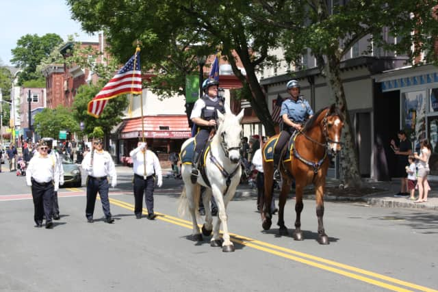 The Memorial Day Parade is an annual event in Nyack.