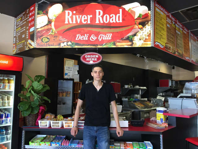 Moe Awawdeh at his new Fair Lawn deli.