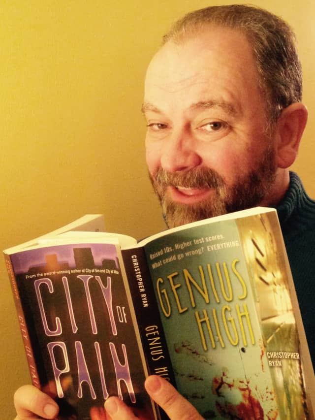 Hackensack High School teacher and New Milford author Christopher Ryan will be at the New Milford Library on Jan. 9.