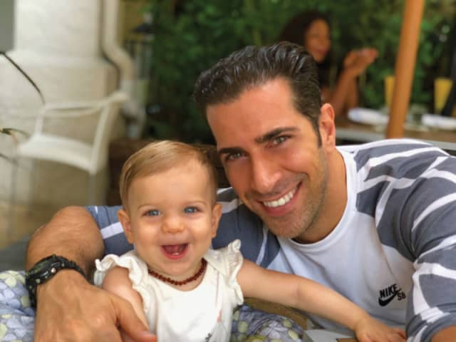 Giovanni Roselli with daughter, Juliet Rose. Courtesy the author.