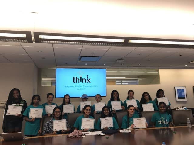 Mohegan Lake student Jothi Ramaswamy is behind ThinkSTEAM, which recently granted awards to girls in grades to eight.