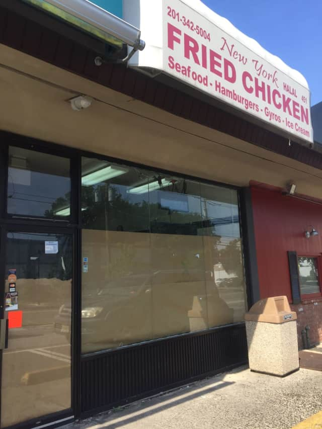New York Fried Chicken is closed pending approval from the Hackensack Health Department.