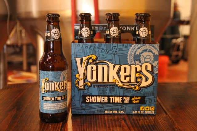 Enjoy a brew from Yonkers Brewing Co.and a pizza from Frank Pepe's Pizzeria at a pizza and beer fest.