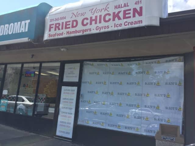 Blaze'd Chicken is opening on Passaic Street in Hackensck.