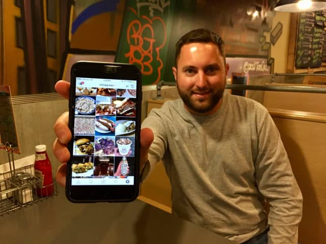 Chris Putignano of Clifton, 28, runs a viral Instagram account.