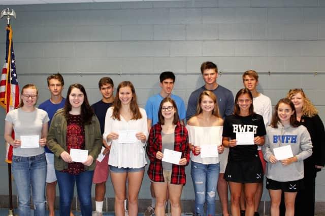 Several seniors at Darien High School were named Commended Students in the National Merit Scholarship Program.