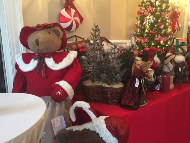 The 18th biennial Tree Festival Opens at Lounsbury House with a champagne preview party this week.