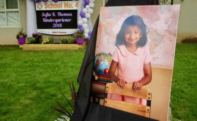 Sofia Thomas, 5, died with her grandmother in a vehicle crash late last year.
