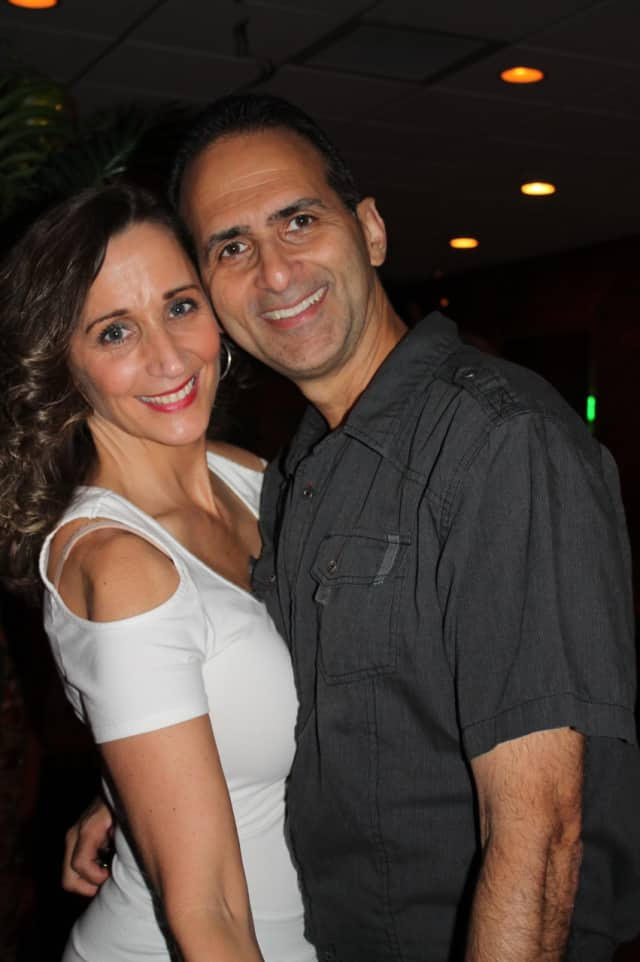Dance instructors Maria Foley and Tony Lopez