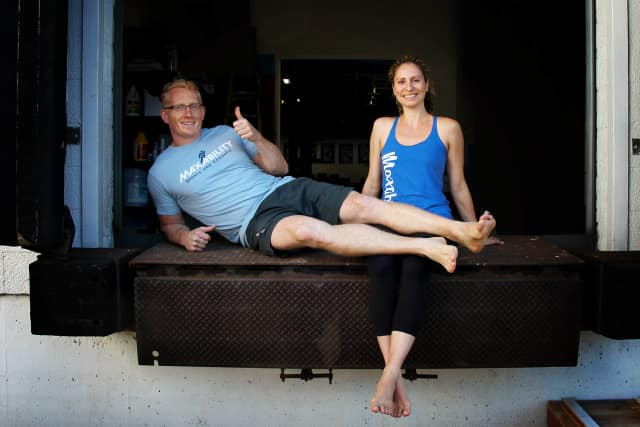 Tim and Robyn Lynch are holding a grand opening for Maxability Sports and Crossfit on Sept. 27.