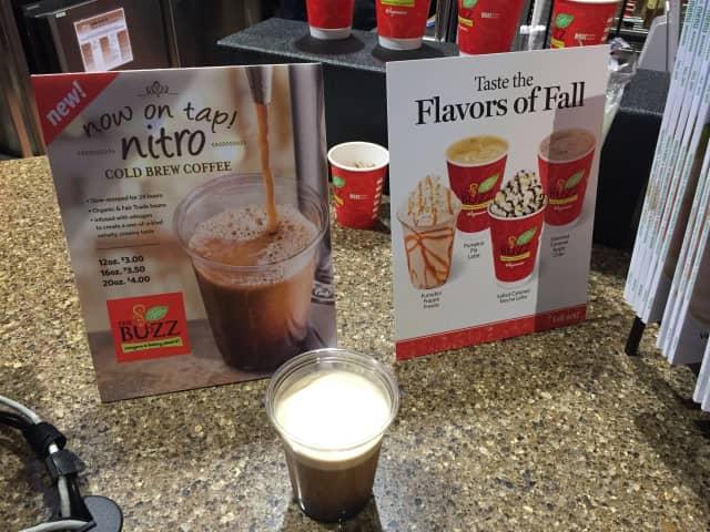 Coffee options at Wegmans in Montvale.