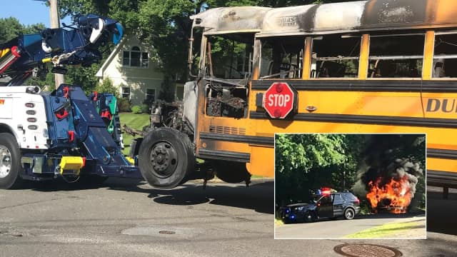 """So scary,"" wrote Kim Lifrieri. ""Thank God the bus driver Ken and the boy got off safe."""