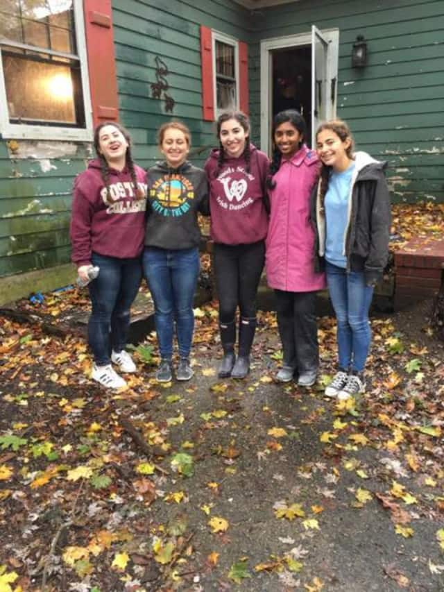 Briarcliff students recently assisted Habitat for Humanity in building a home in Millwood.