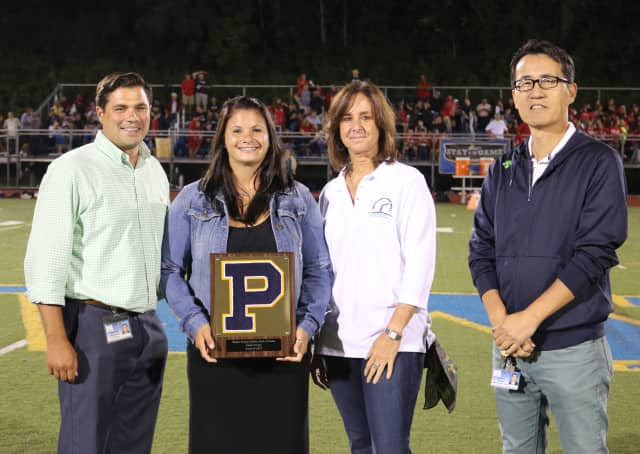 Walter Panas High School inducted three former student athletes into its Athletic Hall of Fame: Jamie Irving, Terry Rancier and Alison Rogers.