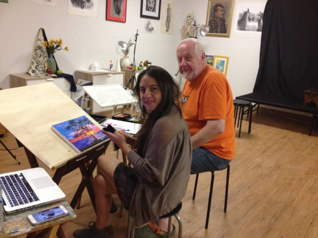 Take an art class as Master Art Studio in Ridgewood.