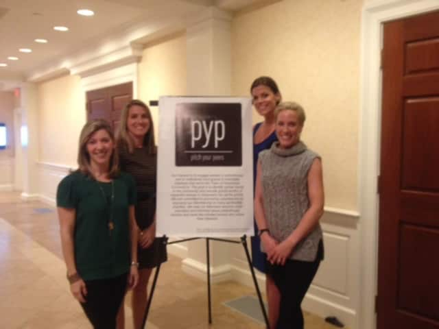 From left: Rachel LeMasters, Dara Johnson, Brooke Bohnsack and Nina Lindia, the four founders of Pitch Your Peers.