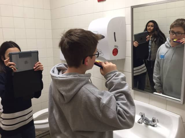 Irvington Middle School seventh-graders will present their public service announcement projects at the fifth annual Irvington Middle School and Jacob Burns Film Center Movie Premiere on March 23.