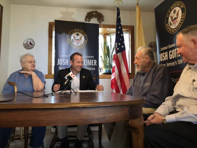 Congressman Josh Gottheimer helped a Dumont couple get $15,000 back from the IRS.