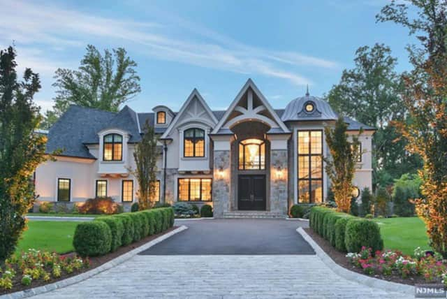 This Upper Saddle River home is listed at $5.488 million on Zillow.