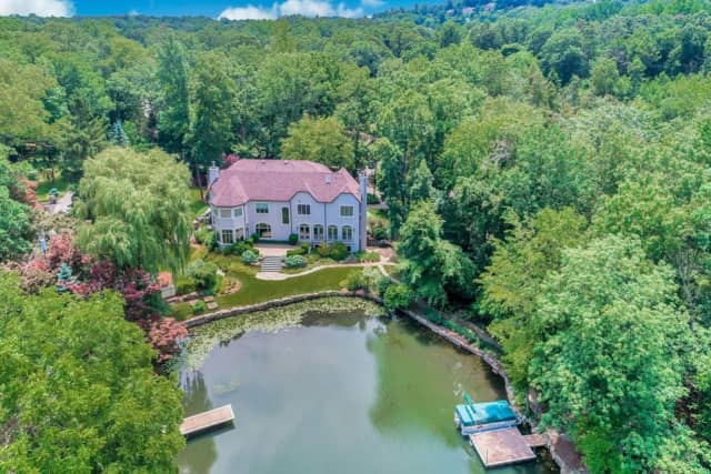 This Wayne house is listed at $2.45 million.