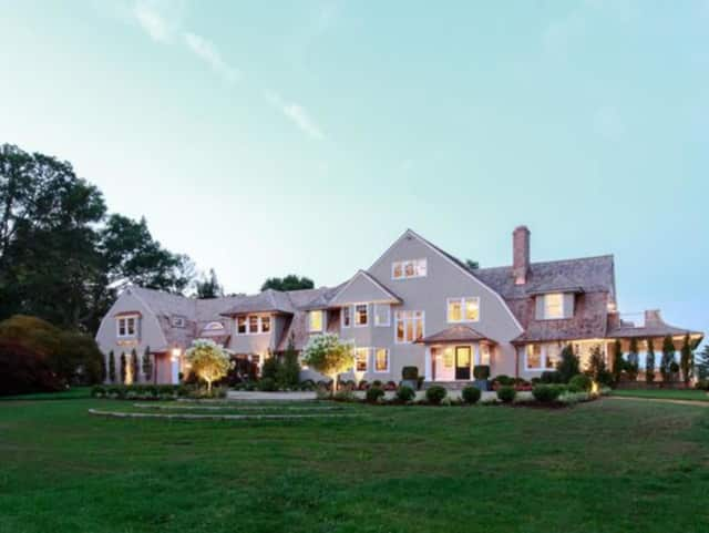 An estate in New Canaan recently sold for $6.1 million.
