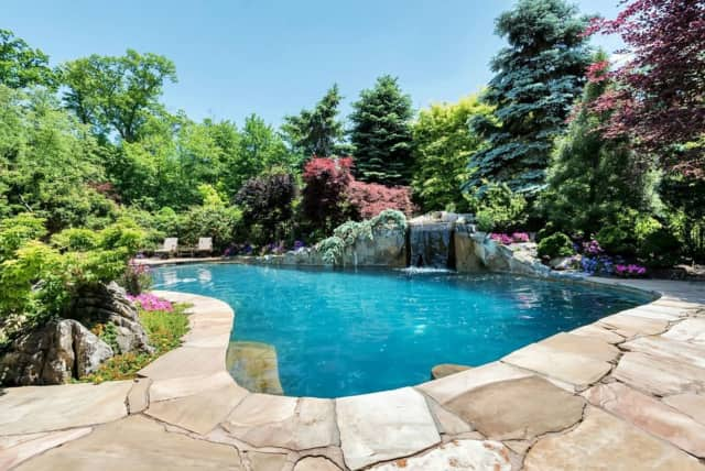 The pool is looking like a good idea on Tuesday in Bergen County.