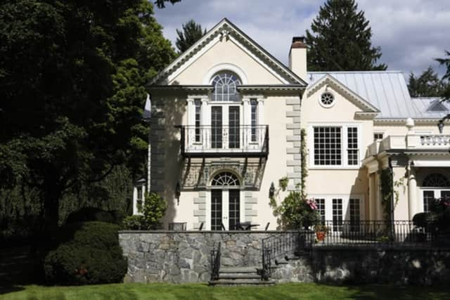 An 8,000 square foot mansion was put on the market for $27.8 million recently.