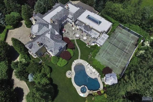 This Alpine mansion is on Rio Vista Drive.