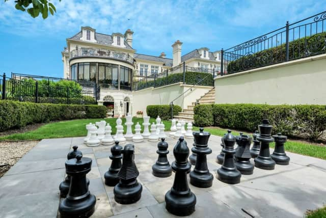 This Cresskill estate is on the market for $10.9 million.
