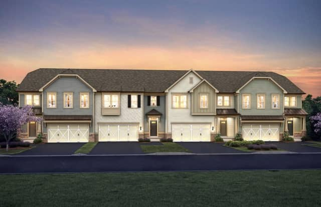 Luxury townhouses will soon be complete in Woodcliff Lake.