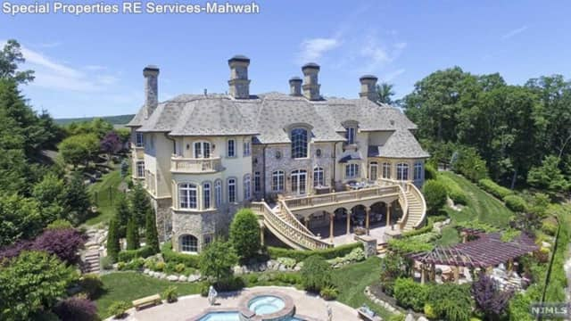 This Mahwah mansion is on the market.