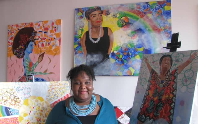 Bridgeport artist Shanna Melton will receive an award from the Cultural Alliance of Fairfield County in June.
