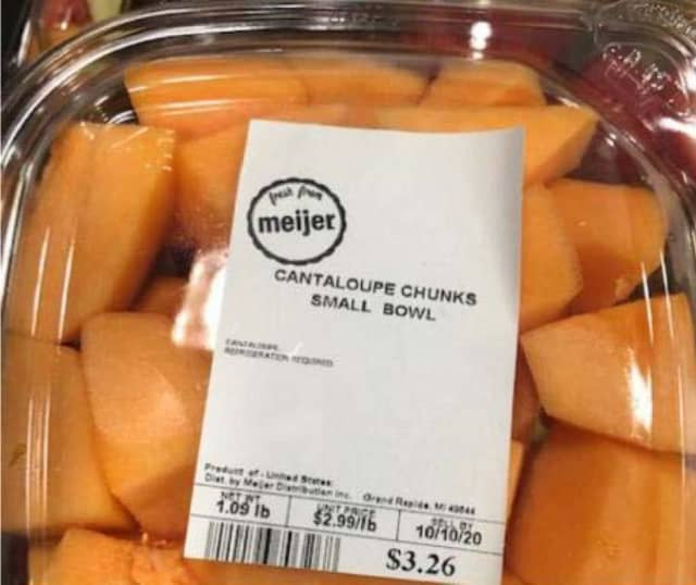 A cantaloupe product is being recalled due to possible Salmonella contamination.