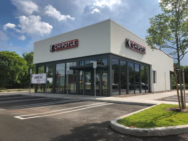 Chipotle has opened a new location on Route 17 in Paramus.