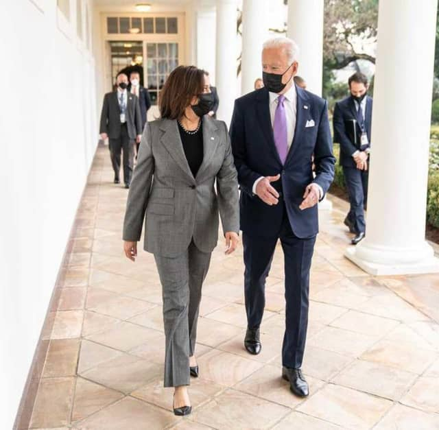 "Vice President Kamala Harris and President Biden are beginning a ""Help is Here"" tour of the United States."