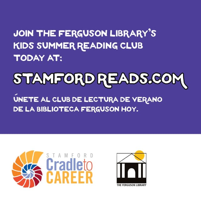 A joint effort of Cradle to Career, which runs under the umbrella of United Way, and Stamford Library is encouraging children who attend community center camps in Stamford to read this summer.
