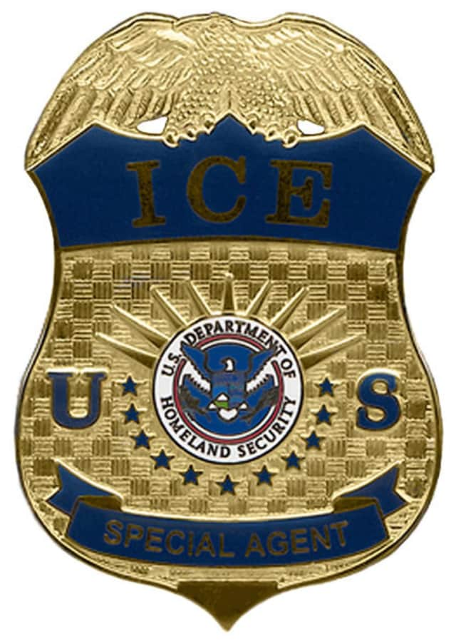 U.S. Immigration and Customs Enforcement agents took two men into custody in Danbury on Monday, according to the News-Times.