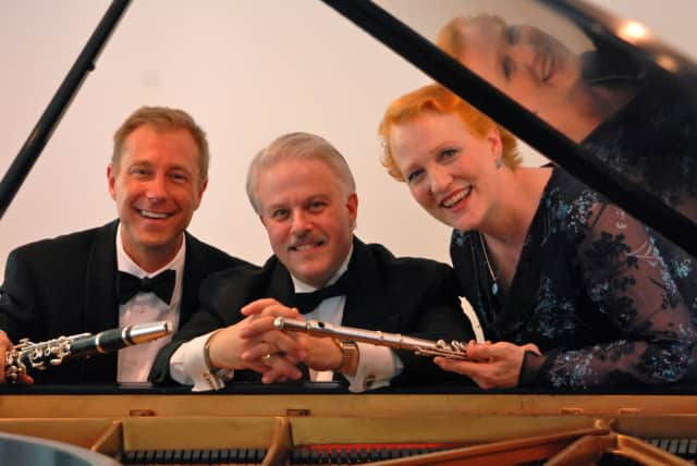 The trio of Palisades Virtuosi will be performing in Fair Lawn.