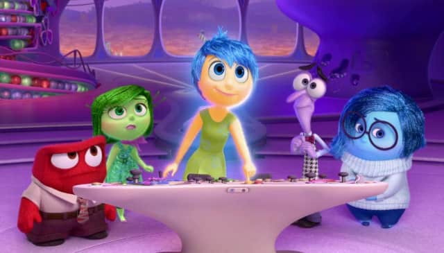 """Inside Out"" is a Disney/Pixar film."