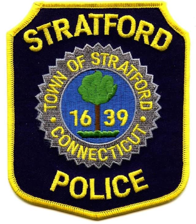 Two officers from the Stratford Police Department were injured in a car collision on Thursday.