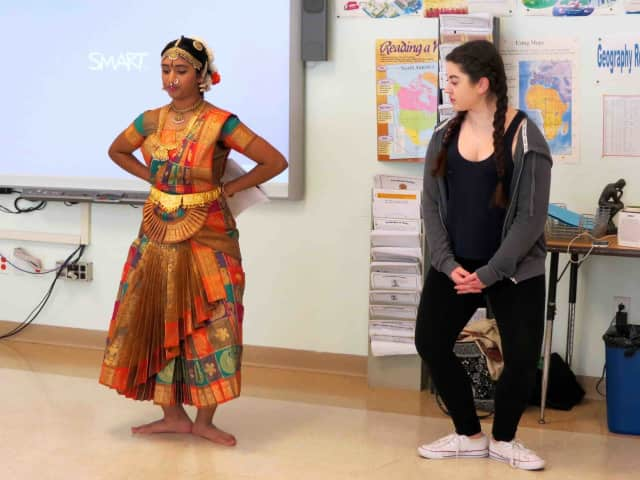 Briarcliff Middle School celebrated International Day by immersing students in cultures from around the world through various workshops and stations manned by their peers and parents.