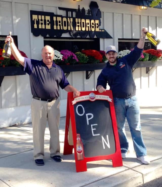 The Iron Horse in Westwood is celebrating 44 years of business.