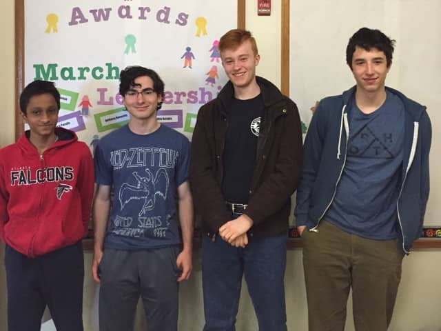 Irvington High School's Academic Challenge team placed 65th in the 2016 National History Varsity National Championship.