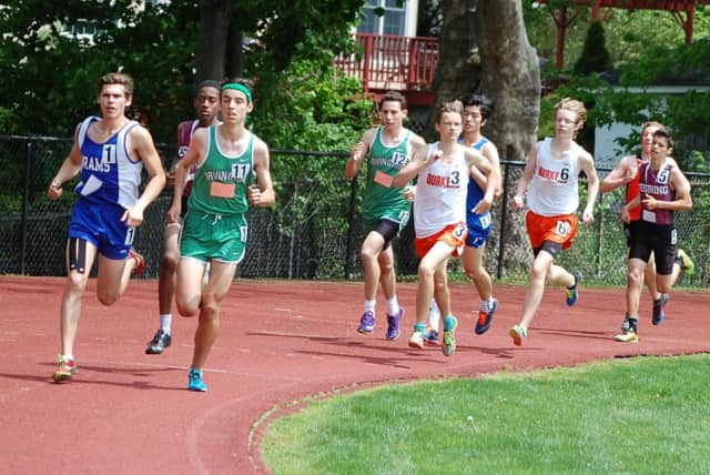 Irvington High School's boys varsity track and field team was crowned league champions on May 10.