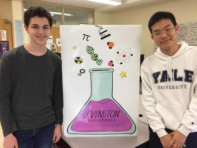 Irvington High School science research students Jacob Dunefsky and Jimmy Park had an outstanding performance at the MIT INSPIRE competition.