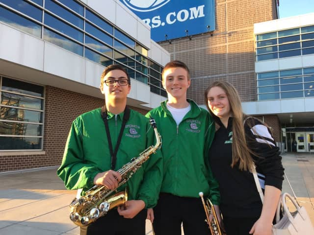 Members of the Irvington High School music ensembles traveled to Philadelphia for their first combined musical performance tour March 17 to 20.