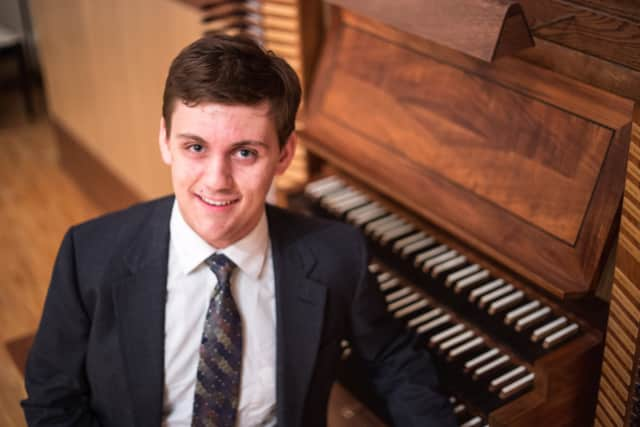 Winner of a national scholarship competition Isaac Drewes will perform in a free concert at Ridgewood's West Side Presbyterian Church on Saturday May, 14 at 7:30pm.